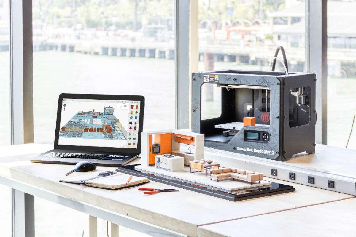 Come le stampanti 3D rivoluzionano l'interior design