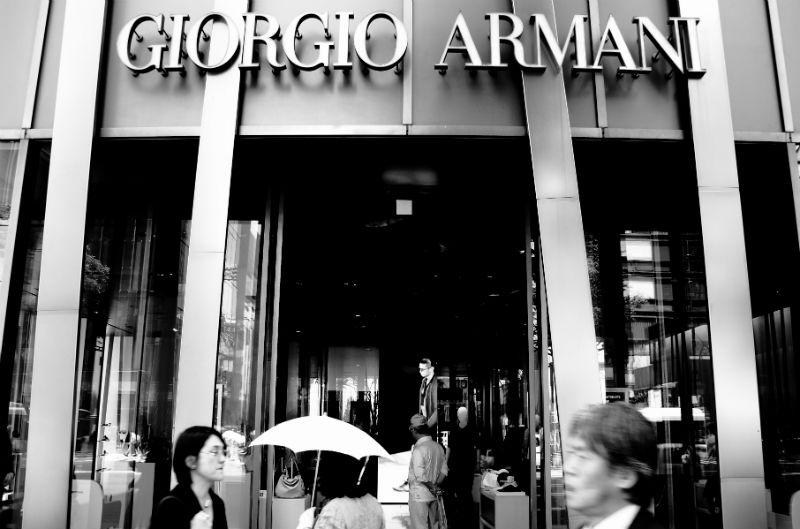 La storia di un vero re Giorgio Armani