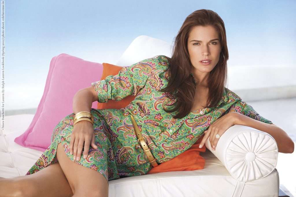 "Chiara Baschetti for Lauren By Ralph Lauren Lookbook (Spring 2012) photo shoot """