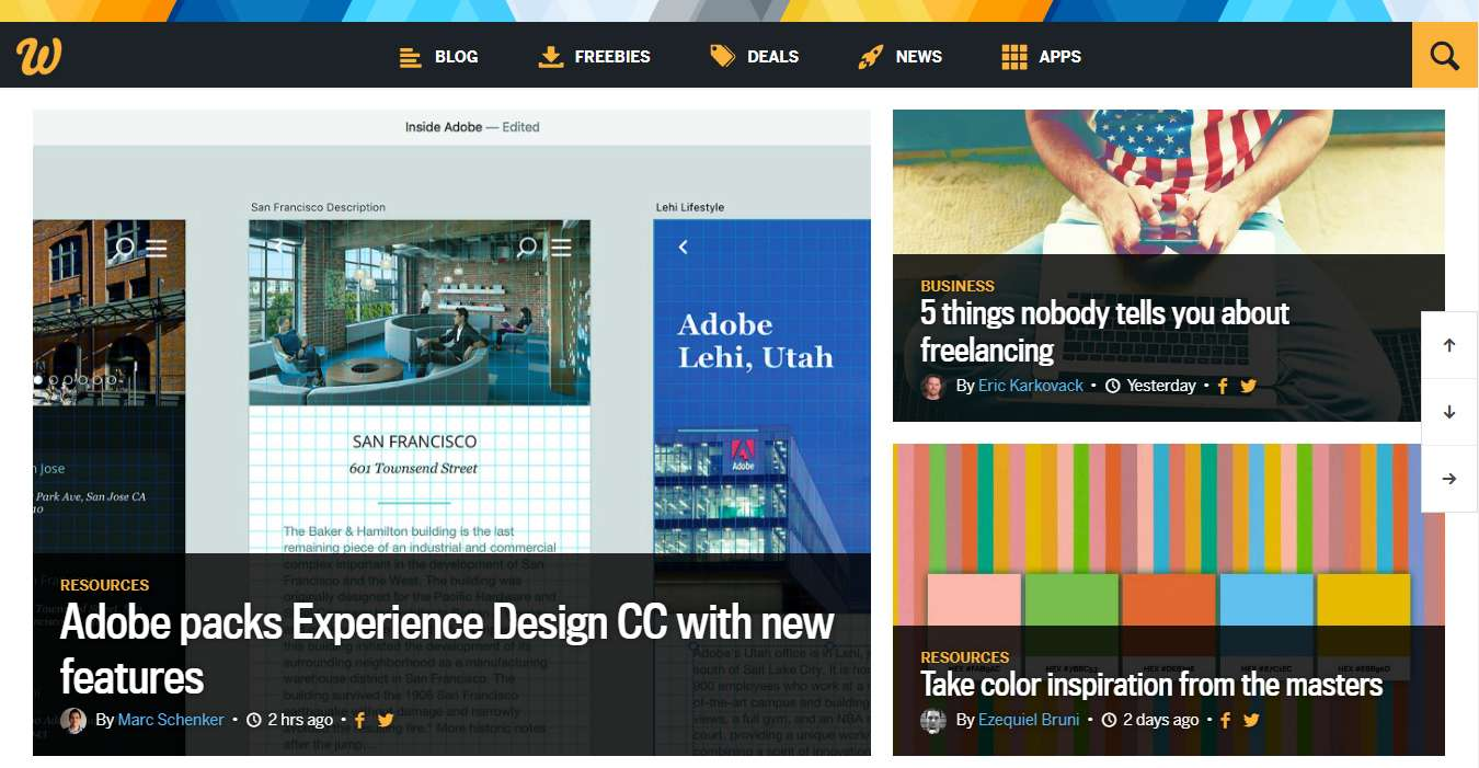 blog di web design 1