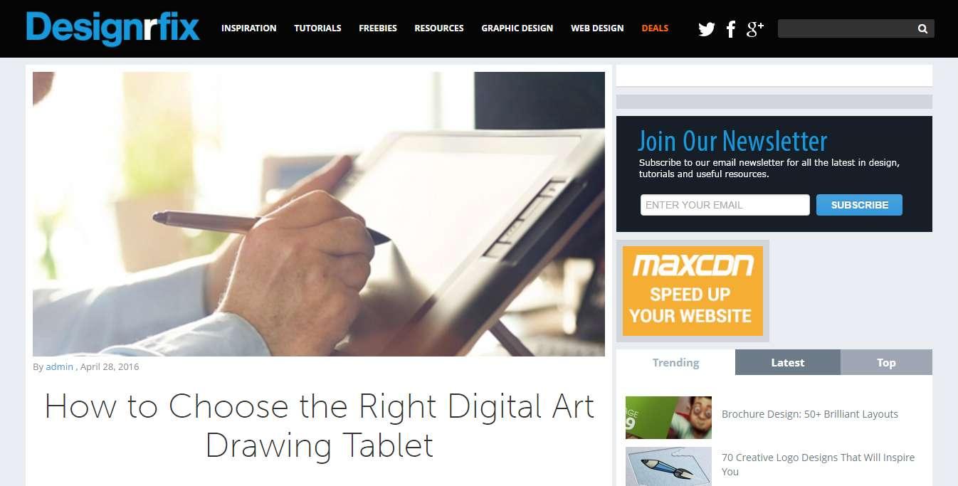 blog di web design 4