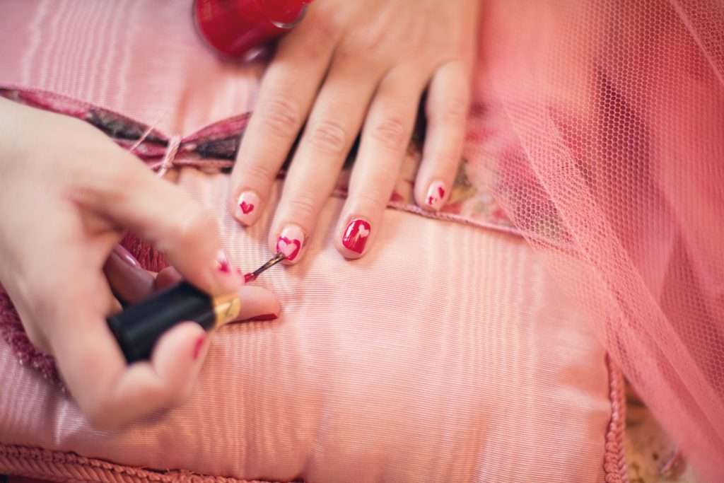 idee nail art primavera