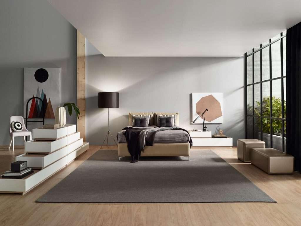 Arredare una camera da letto in stile moderno for Stile moderno della prateria