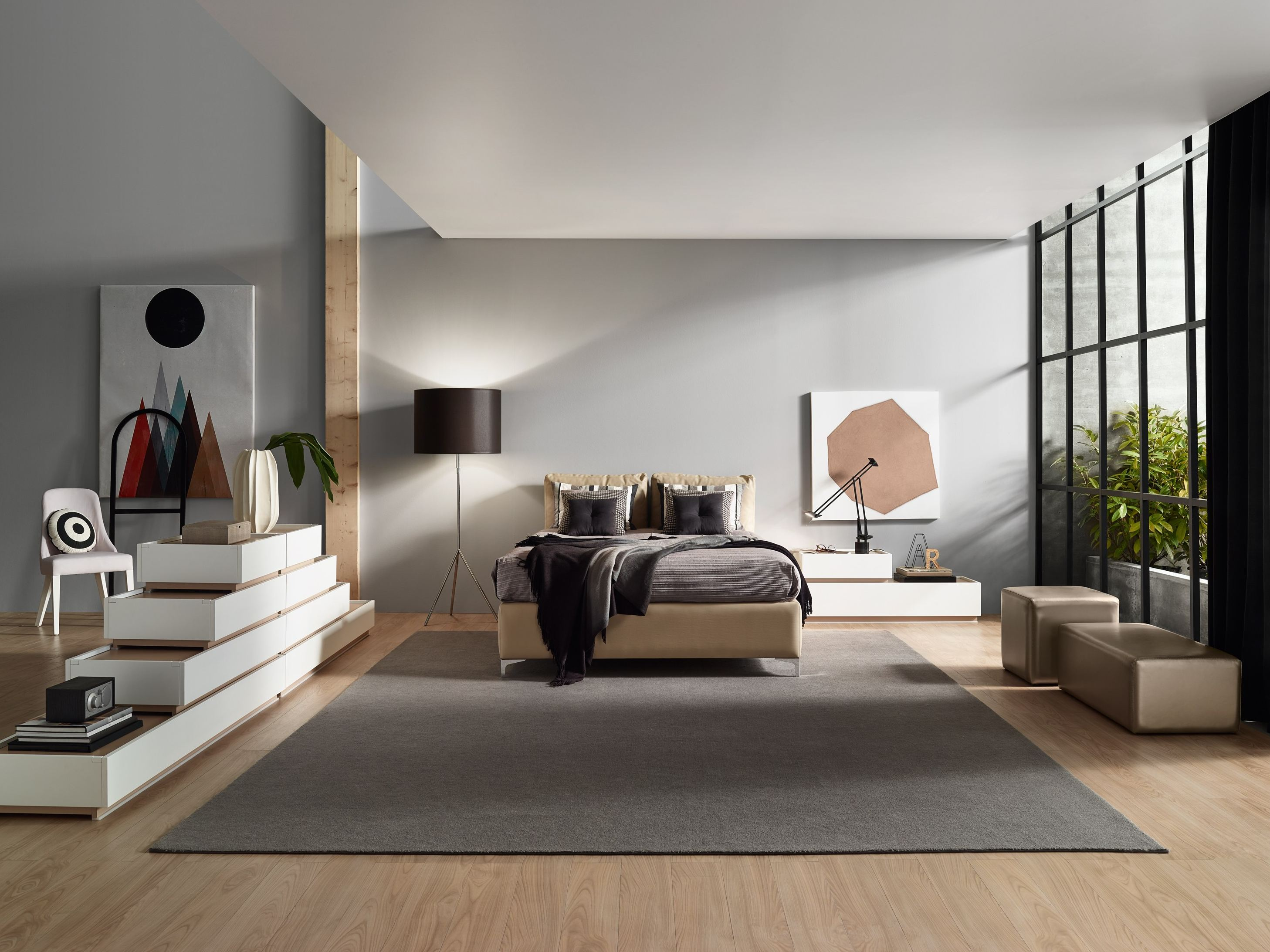 Arredare una camera da letto in stile moderno for Design moderno interni