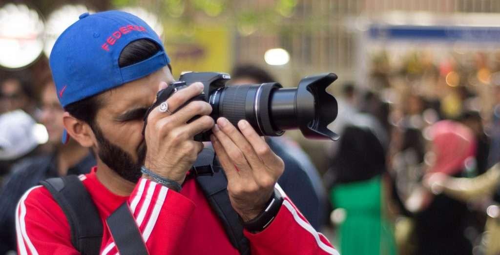 Le fasi dello scatto: lo zoom della fotografia