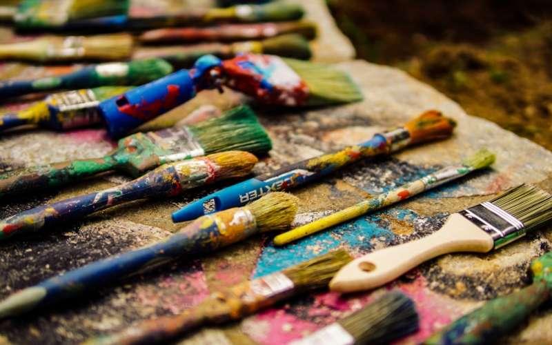 Scegliere gli strumenti giusti per dipingere