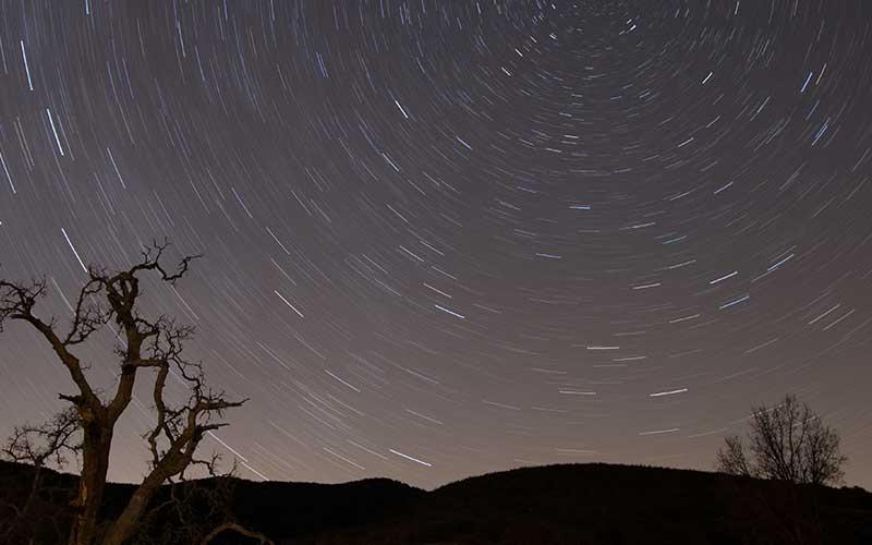 Come fotografare le stelle di notte