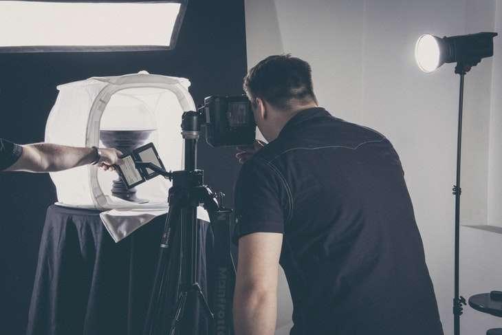 Attrezzatura per studio fotografico