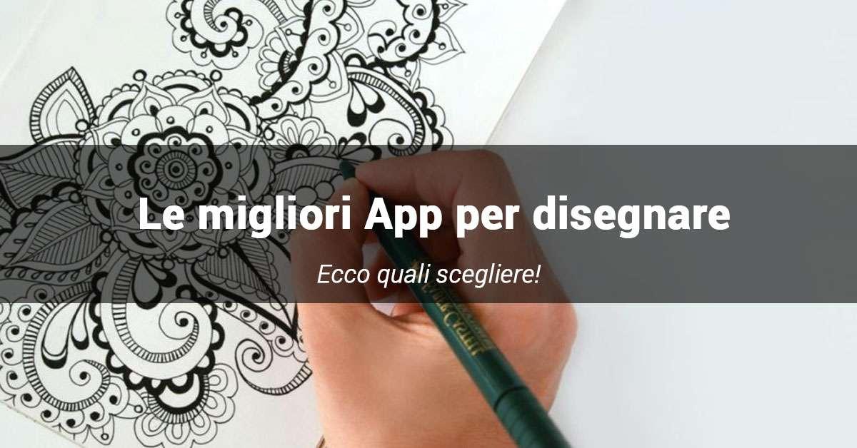 le migliori app per disegnare