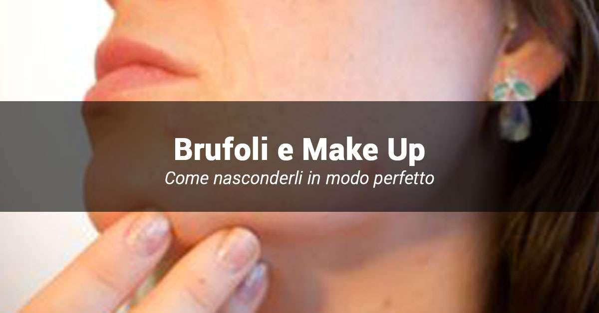 come coprire i brufoli con make up