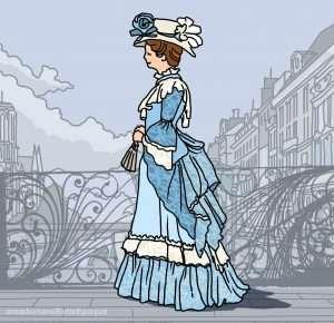 storia della moda nel neoclassico e romanticismo