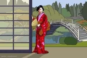 storia della moda: l'influenza giapponese