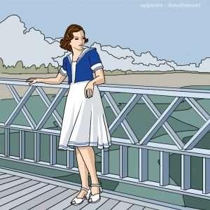 storia della moda gli anni 40 in america