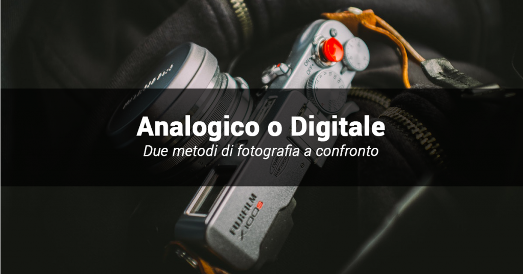foto digitale e analogica a confronto