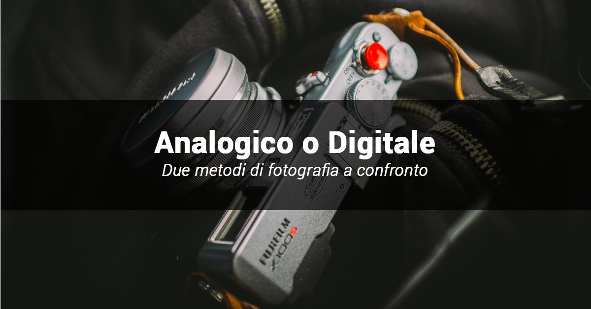 foto digitale e analogica a confronto