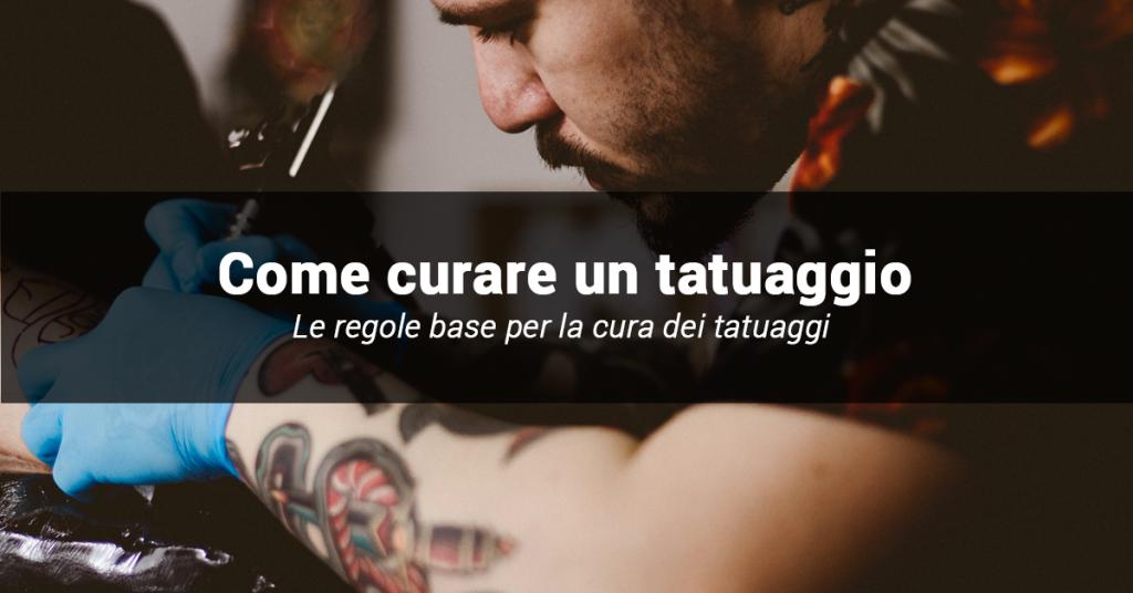 linee guida per curare i tatuaggi