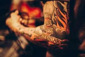 come curare un tatuaggio