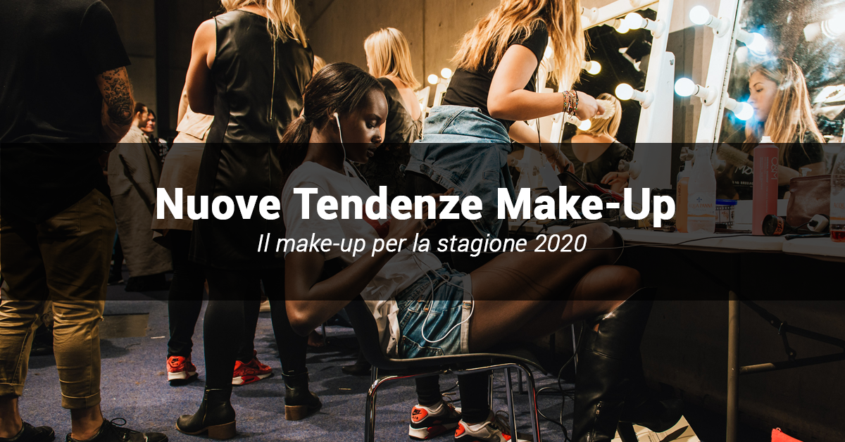 nuove tendenze makeup fashion week