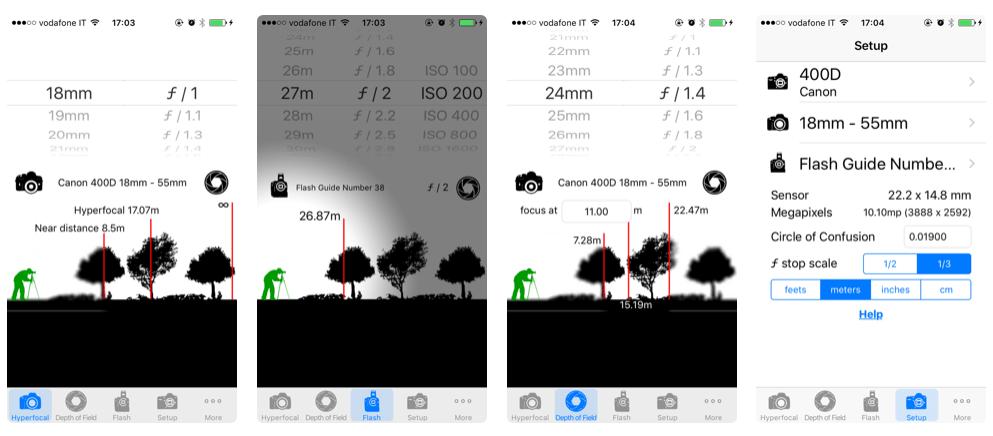 app iperfocale