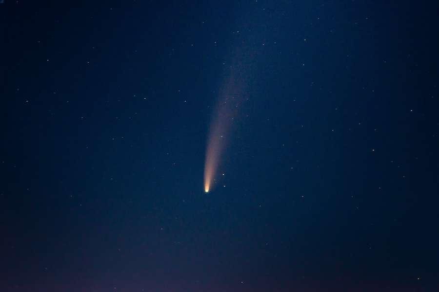 Come fotografare una stella cometa o un meteorite
