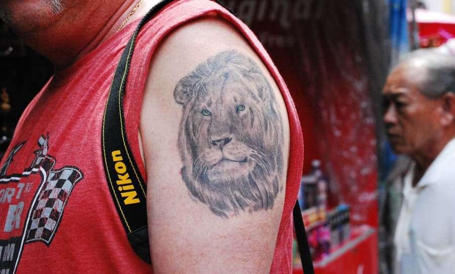 Dove tatuare il leone sul proprio corpo?